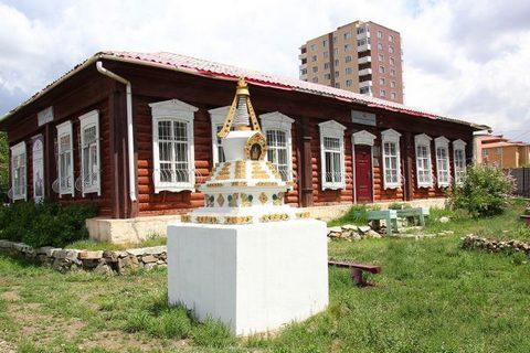 Дом-музей семьи Рерихов в Улан-Баторе.