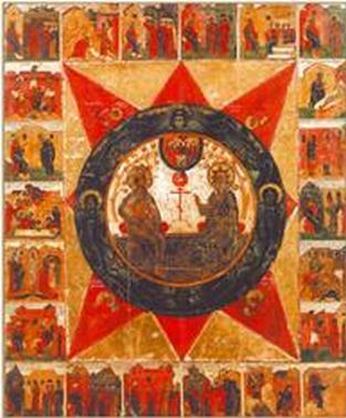Два мира в древнерусской иконописи. Ч. 2.